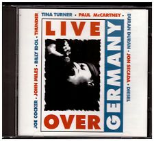 Live Over Germany CD Paul McCartney Pink Floyd Queen Billy Idol