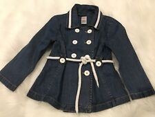 GYMBOREE Wish You Were Here Nautical Denim Jacket Blazer Size 5
