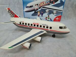 Playmobil 4310 Pacific Airlines Jet with Pilot in Original Box