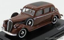 Abrex 143abh-904rf scala 1/43 skoda superb 913 4-door 1938 brown