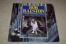 Bob Ralston~A Theater Pipe Organ Concert~1978 Classical / Jazz~FAST SHIPPING!