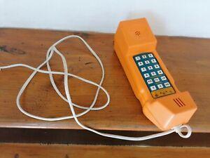 Vintage BRITISH TELECOM orange BT Engineers Test Telephone