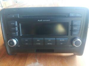 Audi Concert II+ pour TT / A3 / A4Audi Original Autoradio