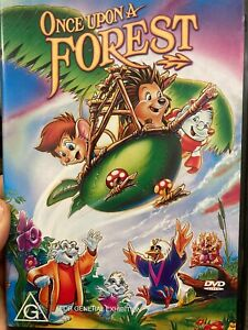 Once Upon A Forest region 4 DVD (1993 animated kids / family movie)