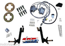 Club Car Golf Cart Front Disc Brake Kit fits Jake's DS 03.5-08 Double A-Arm Lift