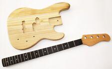 Body et neck, guitares corps gitarrenhals pour E-Bass PB 4 bass