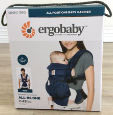 Ergobaby Omni 360 Cool Air Mesh 4 Position Baby Carrier Onyx Black