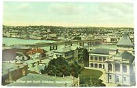".1910 RARE VIEW, ""VICTORIA BRIDGE & SOUTH BRISBANE"" GLOSS COLOUR POSTCARD."
