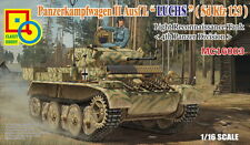 1/16 Classy Hobby Sd.Kfz.123 Pzkfw II Ausf.L Luchs Light Recon 4th PZ Div #16003