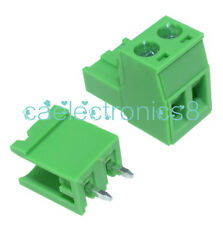 5PCS KF2EDGK KF-2P 2PIN Right Angle Plug-in Terminal Connector 5.08mm Pitch CA