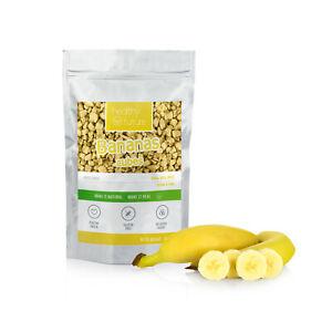 Freeze Dried Banana Cubes 100% Natural No added sugar No Preservatives