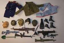 Mixed Lot of 12 Inch Army Guy Weapons, Ect.