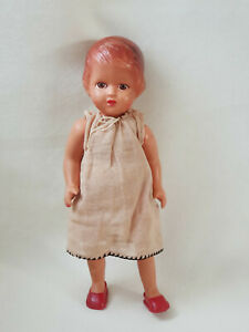 Antique celluloid doll Little girl