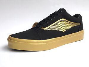 Vans Old Skool HARRY POTTER  Golden Snich Black Gold NEW Classic