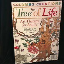 Topix Media Specials - Coloring Creations - Tree Of Life - Art Therapy For Adult