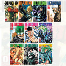 One-Punch Man Volume ( 1-10 ) 10 Books Collection Set BRAND NEW Paperback