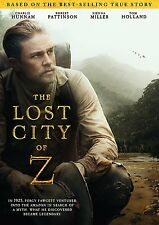 The Lost City of Z (DVD, 2017) Action, Adventure, Suspence NOW SHIPPING !