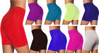 NEW LADIES HOT CYCLING PANTS SHORTS GYM COTTON YOGA BLACK WHITE RED SIZE 8-22