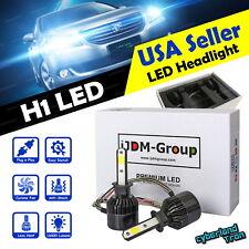 2 x H1 COB White LED Headlight Replacement 6000K 6K 160000LM Bulbs for Fog Light