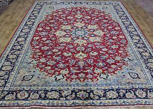 Fine Persian Najaf Abad handmade carpet, great design superb color 380 x 280 CM