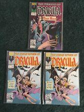 The Savage Return of Dracula #1 (2 copies) & The Wedding of Dracula #1 VF/NM