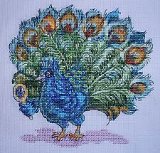 KL90 Looking Good! Peacock Cross Stitch Kit by Vanessa Wells