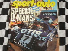 SPORT AUTO 1982 24 H DU MANS / TOYOTA CELICA / VILLENEUVE /TOUR DE CORSE / n°245