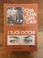 """SPARTITO LATINS """"CHA CHA CAN CAN"""" + MONTI """"I TUOI OCCHI"""""""