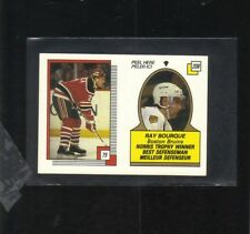RAY BOURQUE BOSTON BRUINS TUQUE LA LNH NHL HOCKEY CARD PLIER ICI ET PELER 1988