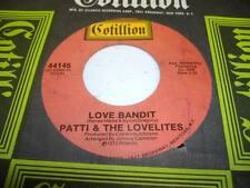 Northern Soul NM! 45 PATTI & THE LOVELITES Love Bandit on Cotillion
