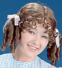 Dorothy Country Girl Pigtails Curls Adult Costume Wig