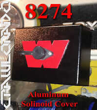 Warn 8274 HD Aluminum Solenoid Pack Cover - Replace your faded & cracked plastic