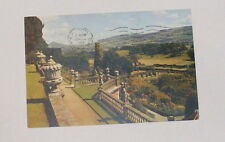 The Gardens, Powis Castle, Montgomeryshire - Old Postcard