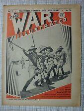 The War Illustrated #70: Sudan Athens Greece Libya Saphis, Anti-Aircraft Battery