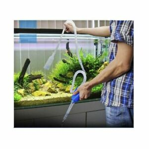 Aquarium Cleaner Vacuum Pump For Fish Tank Wash Sand Water Changer Suction Pipe