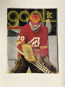 1979 Hockey NHL Goal Magazine - Dan Bouchard - Atlanta Flames on Cover