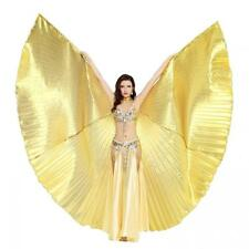 Dance Fairy Belly 360 Degree Isis Wings with Portable Flexible Sticks