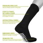 "Men's <NON SKID SOLE>Diabetic CREW circulatory Socks  ""Slipper Socks  GRIPPER"""