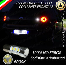 LAMPADA RETROMARCIA 15 LED P21W BA15S CANBUS PER VW GOLF 5 V 6000K NO AVARIA