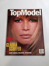 Claudia Schiffer ELLE TOP MODEL No.1  PHOTO MAGAZINE 1994 Kate Moss