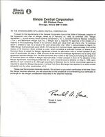 Merger Illinois Central & Canadian National, info, prospectus, many pages. 1998