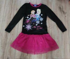 Disney Anna&Elsa süßes Kleid Gr.110/116