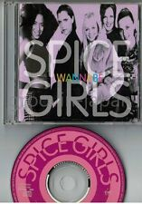 "SPICE GIRLS Wannabe JAPAN 5"" MAXI CD VJCP-12040 w/PS No OBI Free S&H/P&P"