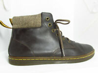 Dr Martens Air Wair MAELLY Womens Brown Leather Boots Size 8