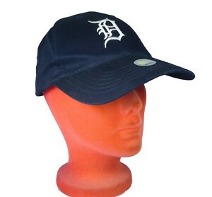 DETROIT TIGERS BASEBALL HAT CAP NEW WITH TAGS D BLUE VINTAGE TWINS BRAND 90's