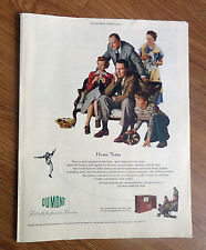 1950 DuMont Televison TV Ad   Football Theme   Home Team.   The Tarrytown