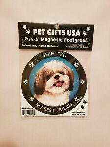 Pet Gifts USA Magnetic Pedigrees Dog Magnet - Shih Tzu My Best Friend