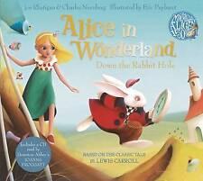 Alicia en el país de las maravillas: en el hoyo del conejo de Lewis Carroll Audio Cd Y Libro