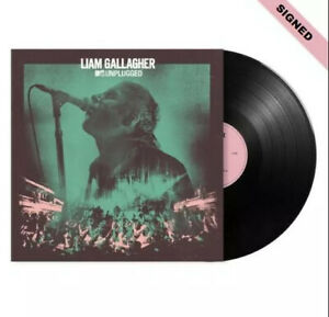 Liam Gallagher MTV Unplugged Vinyl & SIGNED Vinyl Card - SOLD OUT- PRE-ORDER