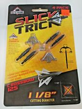 "Slick Trick Broadhead-1 - 1/8"" Xbow Crossbow - 4 pack - 125 grain"